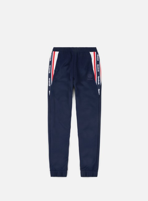 pantaloni reebok franchise track pants collegiate navy