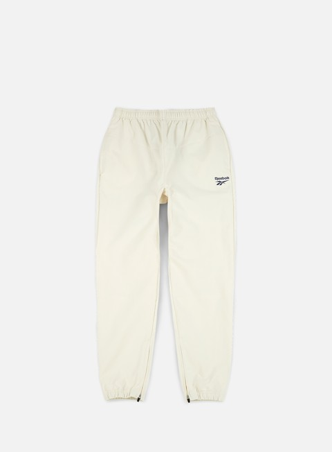 pantaloni reebok lf track pant classic white