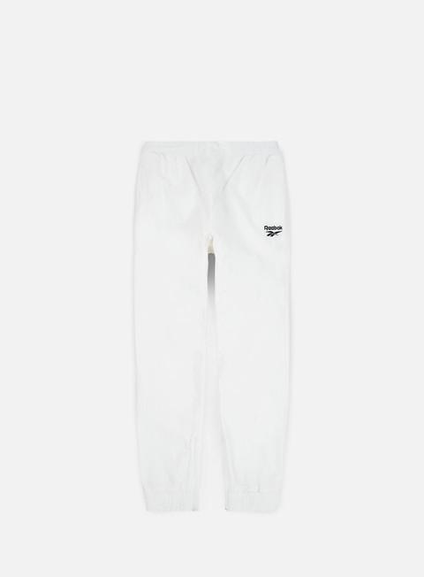 pantaloni reebok lf track pant white