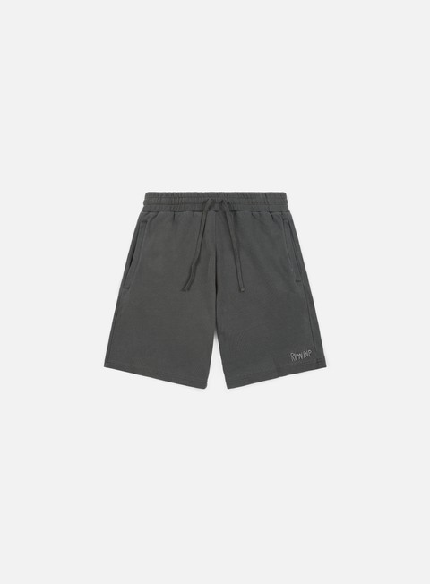 pantaloni rip n dip peek a nermal over dye sweat short black