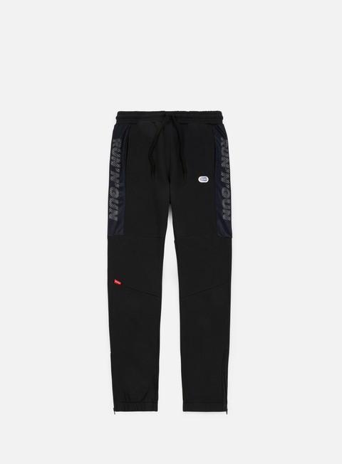 pantaloni run n gun mesh track pant black