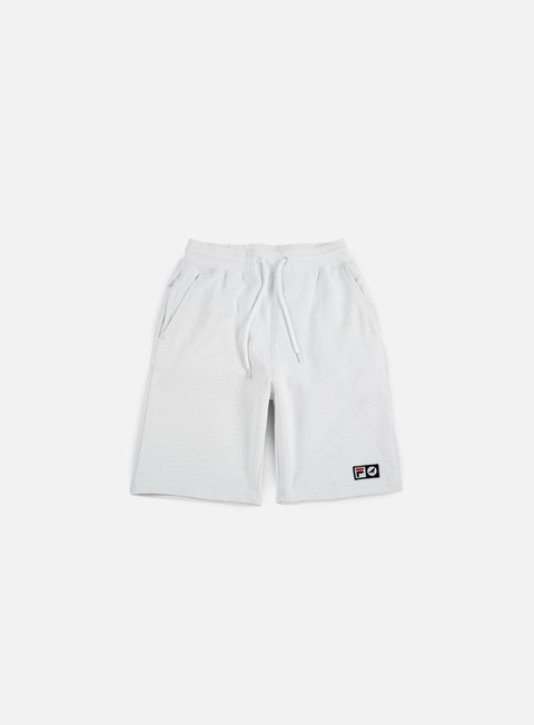 pantaloni staple fila fleece short white