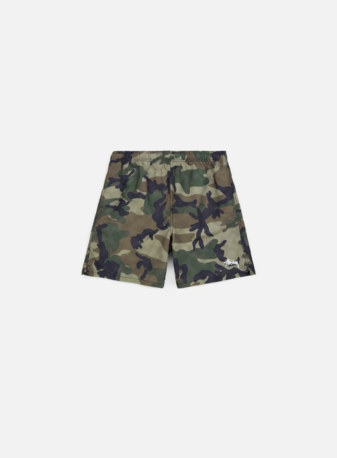 Swimsuits Stussy Camo Water Short