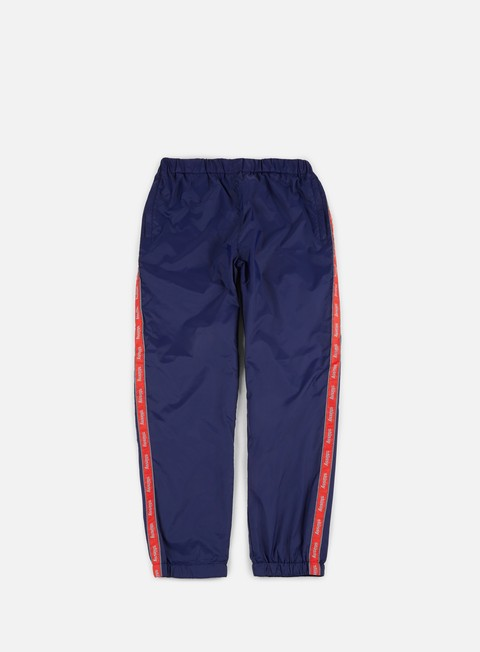 pantaloni stussy nylon warm up pant navy