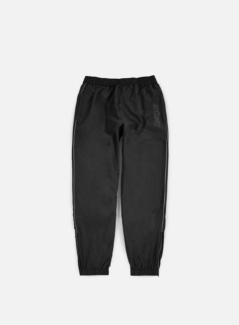 pantaloni stussy reflective track pant black