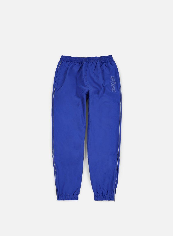 Stussy - Reflective Track Pant, Blue