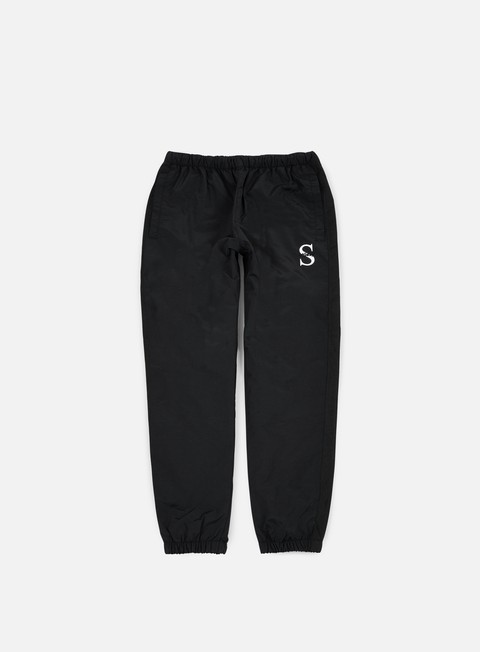 pantaloni stussy sport nylon pant black