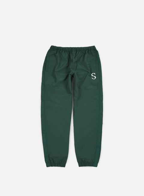 pantaloni stussy sport nylon pant forest