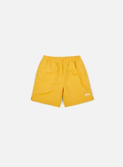 Stussy - Stock Elastic Waist Short, Gold