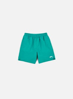 Stussy - Stock Elastic Waist Short, Green