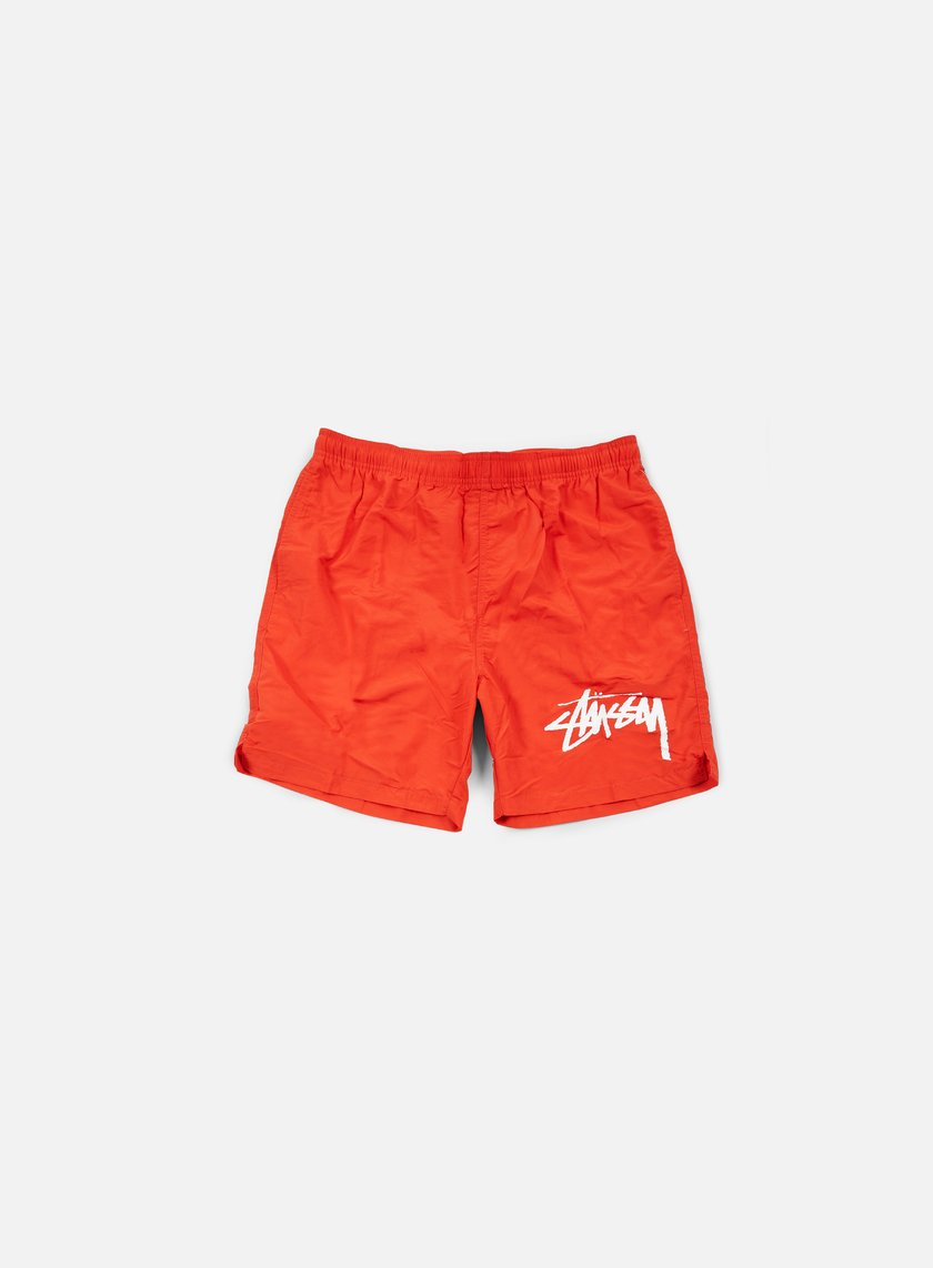 Stussy - Stock Elastic Waist Trunk, Red