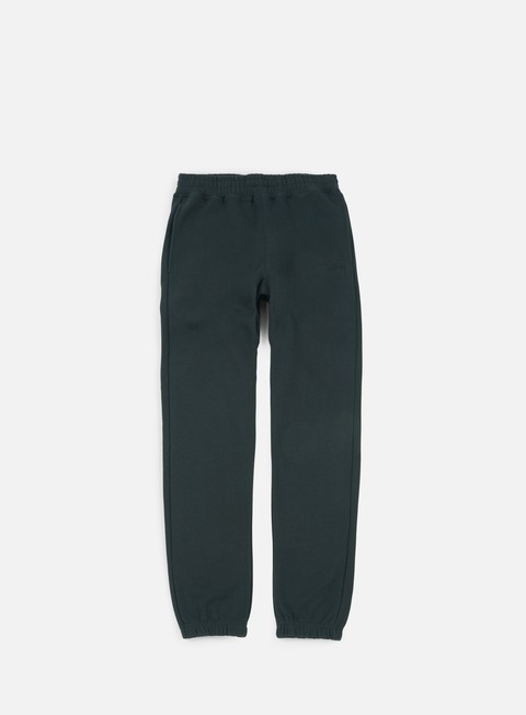 pantaloni stussy stock fleece pant black