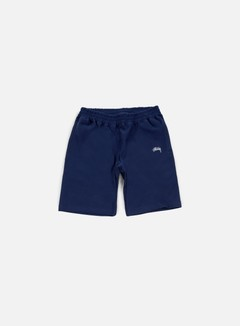 Stussy - Stock Fleece Short, Navy 1