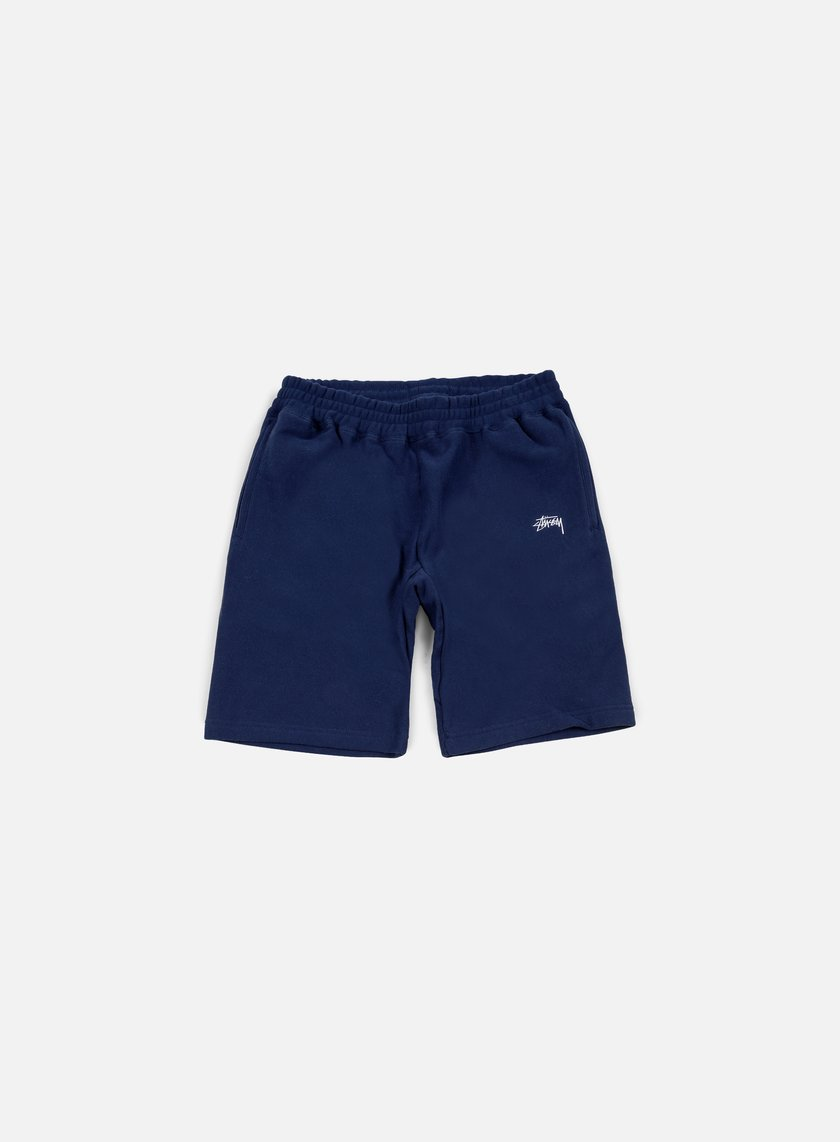 Stussy - Stock Fleece Short, Navy