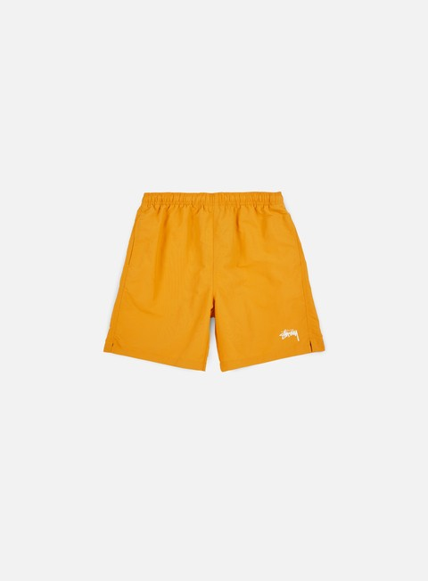 pantaloni stussy stock water short orange
