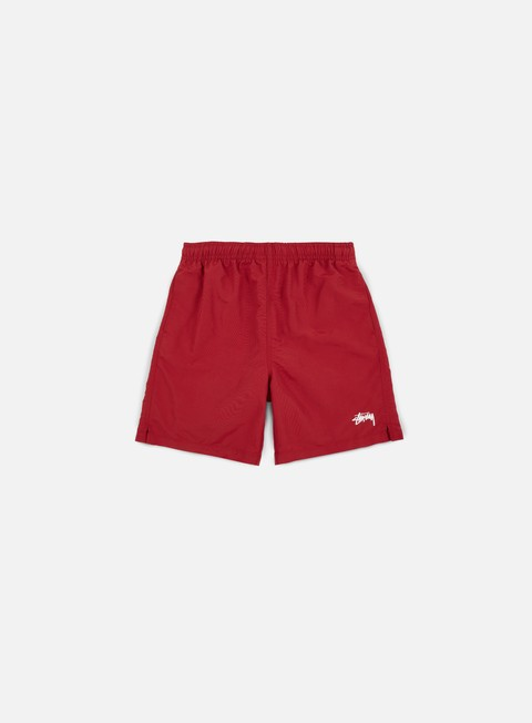 pantaloni stussy stock water short red
