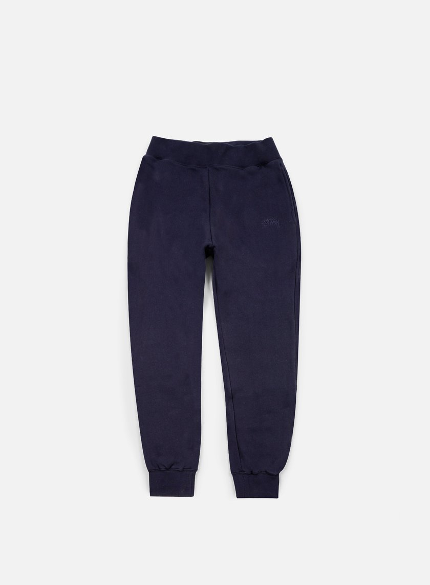 Stussy - Tonal Stock Fleece Pants, Navy