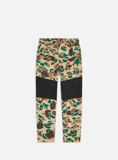 The North Face - Class V Pant, Hawthorne Khaki Duck Camo Print/TNF Black