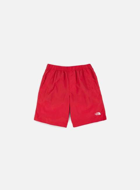 pantaloni the north face class v rapids shorts tnf red white
