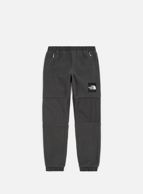 pantaloni the north face denali fleece pant asphalt grey