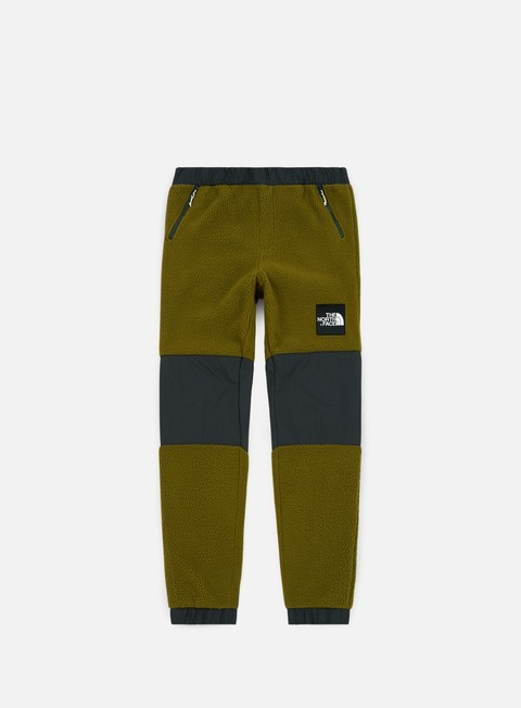 pantaloni the north face denali fleece pant fir green