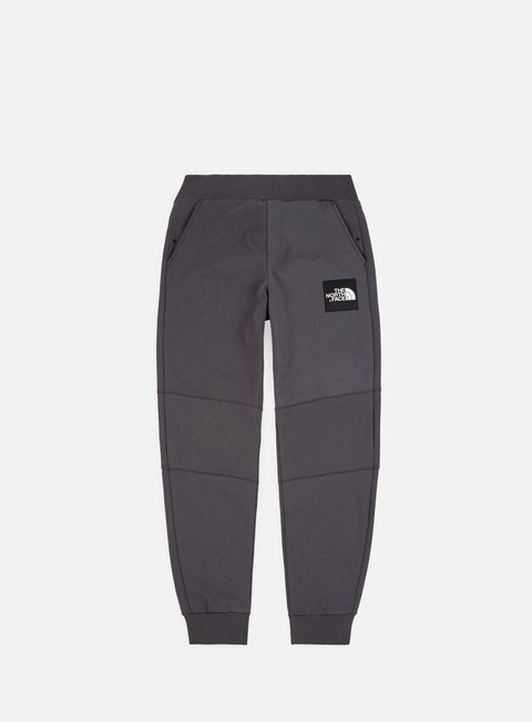 pantaloni the north face fine pant asphalt grey