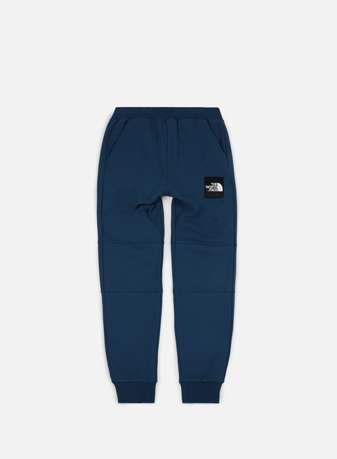 pantaloni the north face fine pant blue wing teal