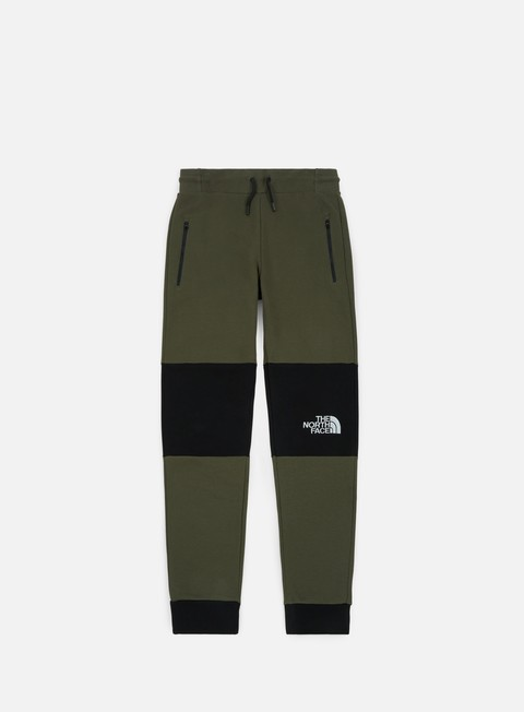 pantaloni the north face himalayan pant taupe green