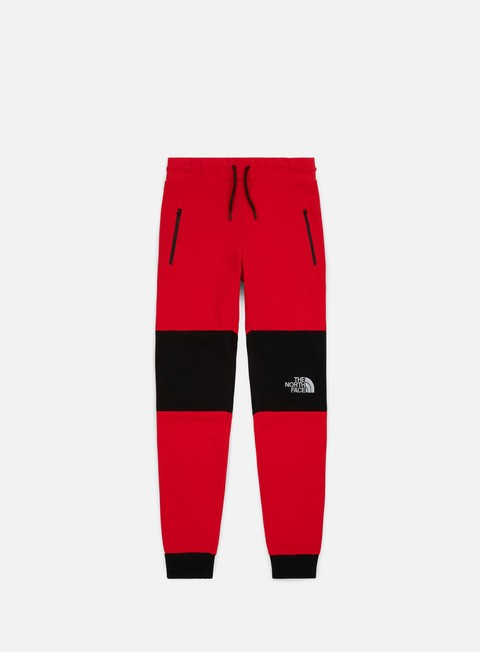 pantaloni the north face himalayan pant tnf red