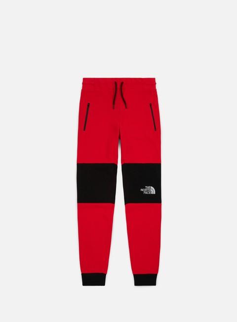 pantaloni the north face himalayan pant tnf red