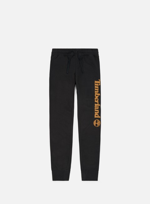 pantaloni timberland logo sweatpant black
