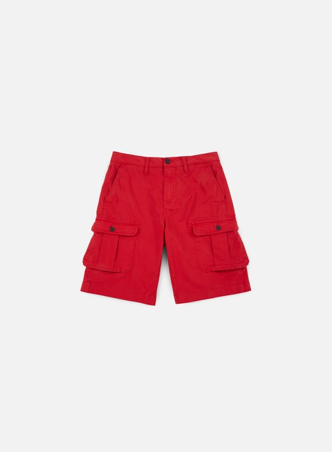 pantaloni timberland webster lake cargo shorts tango red