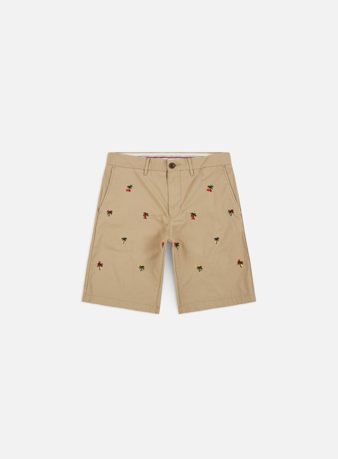 Outlet e Saldi Pantaloncini Corti Tommy Hilfiger Brooklyn Embroidered Shorts