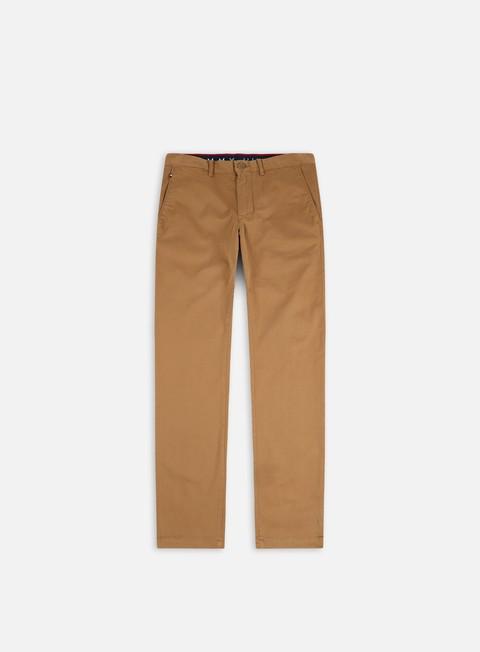 Pantaloni chino Tommy Hilfiger Denton TH Flex Satin Chino Pant