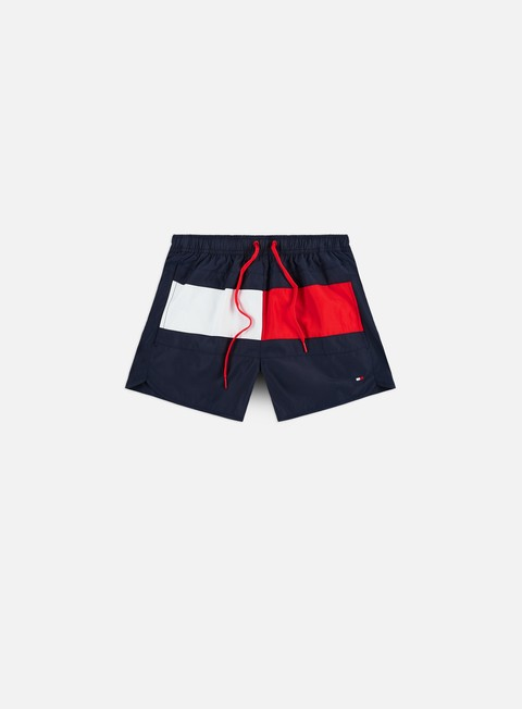 Outlet e Saldi Costumi da Bagno Tommy Hilfiger Runner Swim Shorts