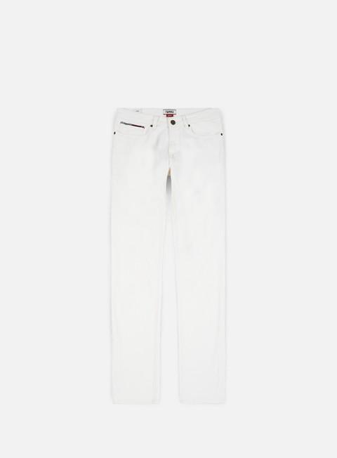 pantaloni tommy hilfiger slim scanton nw mco noella white matt comf