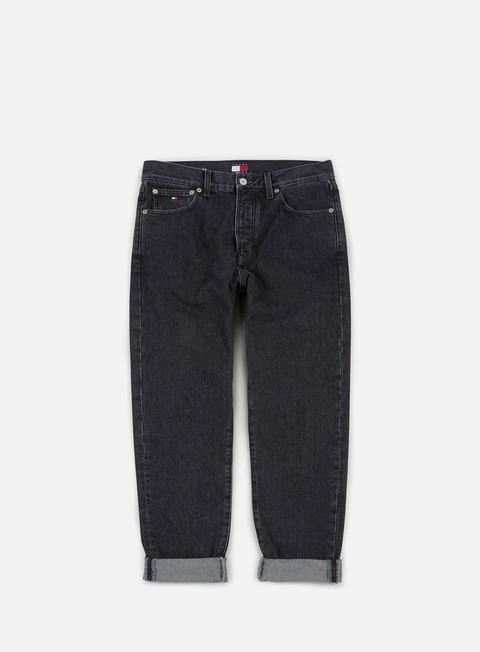 pantaloni tommy hilfiger tj 90s classic straight jeans black