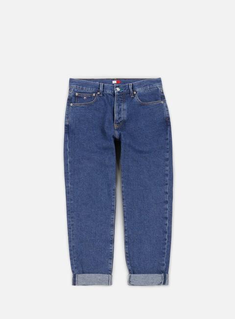 pantaloni tommy hilfiger tj 90s classic straight jeans denim blue