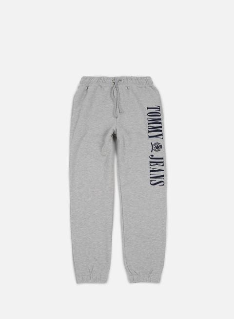 pantaloni tommy hilfiger tj 90s contrast sweatpant grey marl