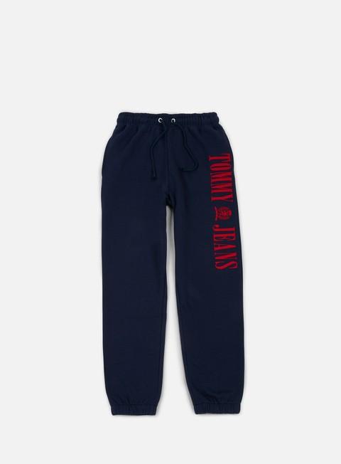 pantaloni tommy hilfiger tj 90s contrast sweatpant peacoat