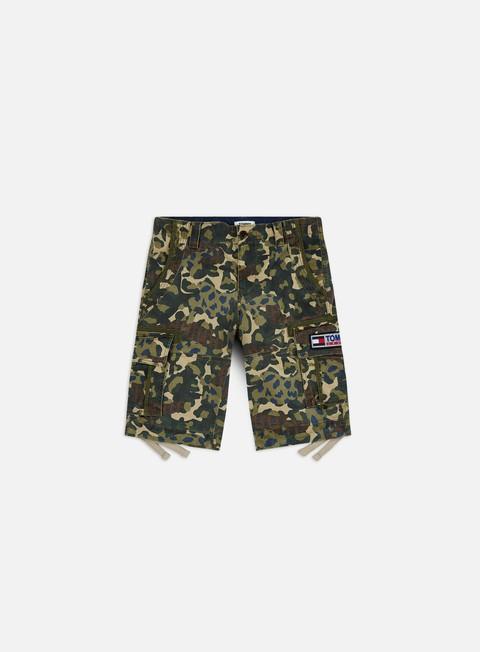 Outlet e Saldi Pantaloncini Tommy Hilfiger TJ Camo Print Cargo Shorts