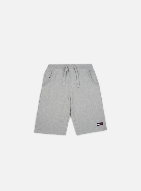 pantaloni tommy hilfiger tj contemporary basketball short light grey heather