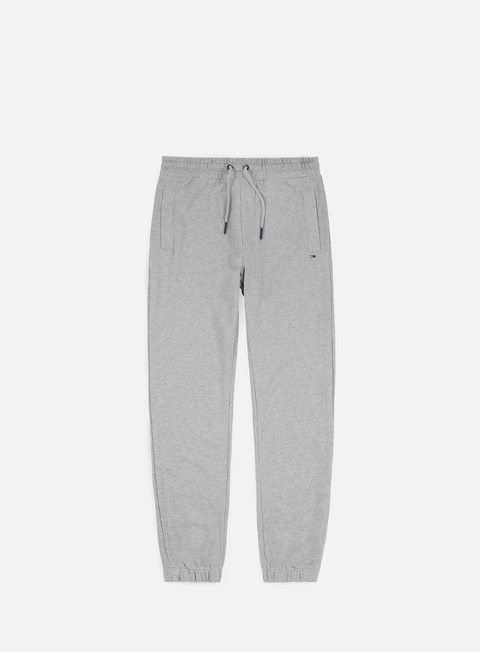 pantaloni tommy hilfiger tj essential pant light grey heather