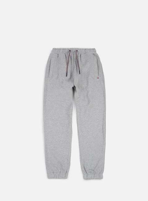 pantaloni tommy hilfiger tj essential sweatpant light grey heather