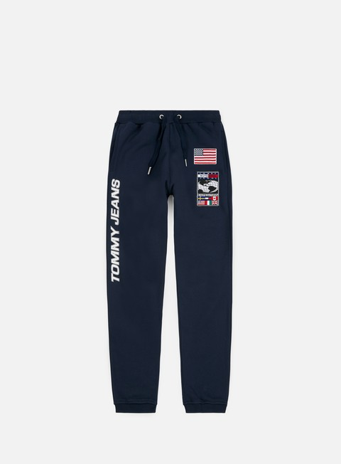 pantaloni tommy hilfiger tj expedition sweat pant dark sapphire