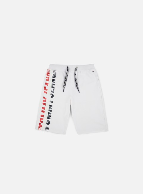 pantaloni tommy hilfiger tj graphic basketball short classic white