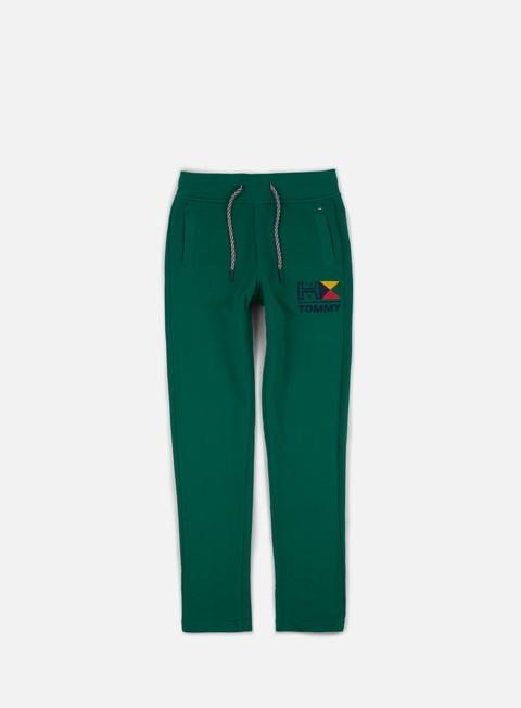pantaloni tommy hilfiger tj retro pant evergreen