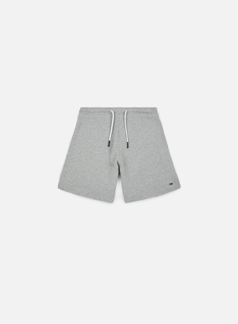 pantaloni tommy hilfiger tj summer sweat short light grey heather