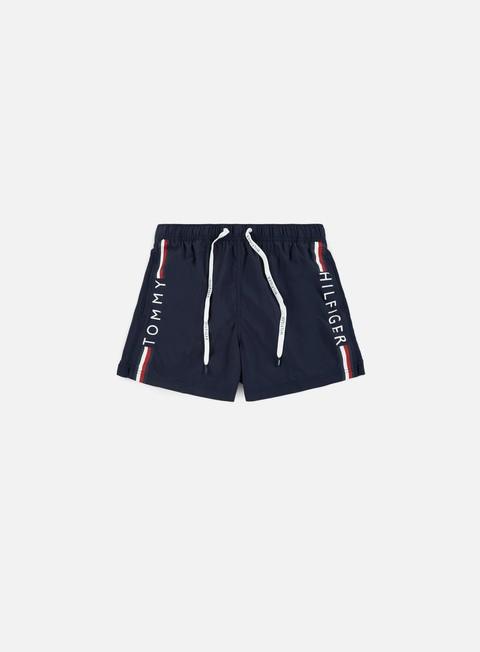 pantaloni tommy hilfiger underwear short drawstring 1 navy blazer