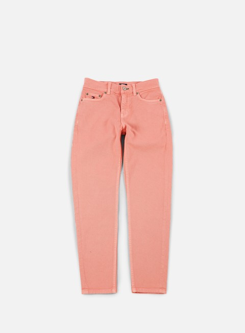 pantaloni tommy hilfiger wmns tj 90s high waist crop denim pant quartz pink